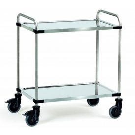chariots-inox-a-2-etageres-cu-120-150-kg