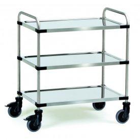 chariots-inox-a-3-etageres-cu-150-kg